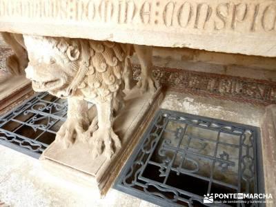 Yacimiento Clunia Sulpicia - Desfiladero de Yecla - Monasterio Santo Domingo de Silos - viajes avent
